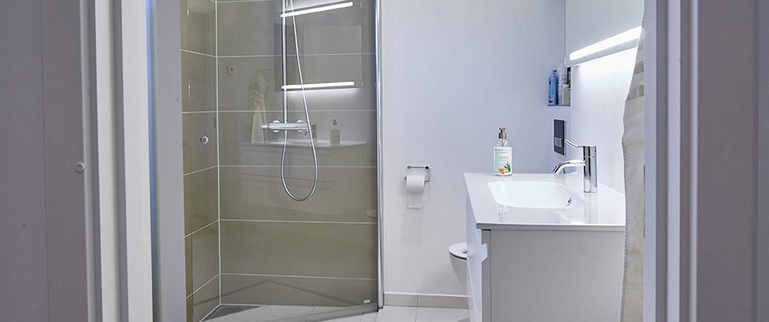Nyt badeværelse, Odder Murerservice